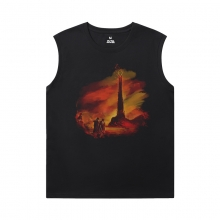 Cowboy Bebop Basketball Sleeveless T Shirt Quality Tee