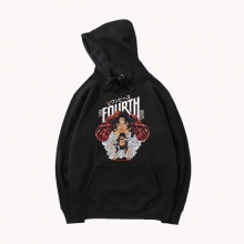 One Piece Hooded Jacket Vintage Anime Hot Topic Luffy Hoodie