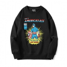 Captain America Sweatshirt Marvel The Avengers Jacket