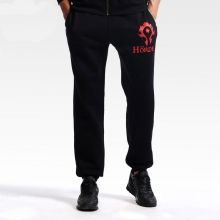 World of Warcraft Horde Logo Pants WOW Casual Sweatpants