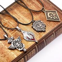 World of Warcraft WOW Alliance Horde Logo Necklace