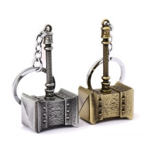 World of Warcraft WOW Orc Doomhammer Keychain