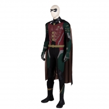 DC Superhero Titans Robin Suit Dick Grayson Cosplay Costume