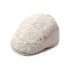 Female Winter Cap England Retro Beret Hat Wild Knitted Wool Painter Caps Grey Beige