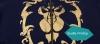 Quality WOW Alliace Logo Hoodie World of Warcraft Gold Lion Sweatshirt