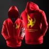 Star Craft 2 Protoss Hoodie Men Black Zipper Coats Cool