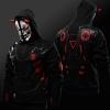 Overwatch Oni Genji Mask Cosplay Hoodie Quality OW Hero Sweatshirt