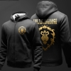 For The Alliance Zipper Hooded Sweatshirts Boys Winter Hoodie Thick 3XL