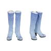 Quality Elsa Boots Elsa Cosplay Blue Shoes