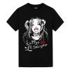 Batman Joker Harley Quinn T-Shirts Womens Marvel Shirt