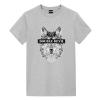 Geometric Wolf Design Tee Shirt