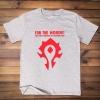 <p>World of Warcraft Tee WOW Cotton T-Shirts</p>