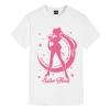 Water ice moon Tee Sailor Moon Anime Girl T Shirt