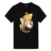 Naruto Pikachu T-Shirt Pokemon Mens Anime Shirts