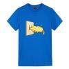 Charging Pikachu Tee Shirt Pokemon Anime Print Shirt