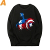 Captain America Sweatshirt Marvel The Avengers Hoodie