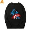 Marvel Captain America Sweater The Avengers Sweatshirts