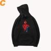 Black Coat Marvel Spiderman Hoodies