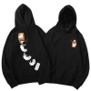 Qualiy 3xl Black Cat Sweater Hoodie