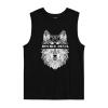 Wolf Geometric Tank Tops Shirt