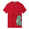 Couple Green tail Tshirts