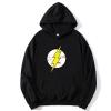<p>The Big Bang Theory The Flash Coat Black Hooded Coat</p>