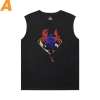 Justice League Superman T Shirt Without Sleeves Marvel Tee