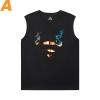 Superman T-Shirts Justice League Marvel Sleeveless Shirts Mens