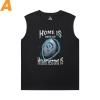 WOW Men'S Sleeveless Muscle T Shirts Blizzard Tee