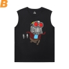 Marvel Guardians of the Galaxy Sleeveless Printed T Shirts Mens Groot Tee