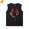 Superhero Tshirts Justice League Superman Men'S Sleeveless T Shirts For Gym