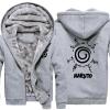 <p>Winter Warm Hoodies Naruto Uzumaki Logo Coats</p>