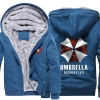 <p>Resident Evil Umbrella Winter Warm Hoodies</p>