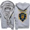 <p>World of Warcraft Lion Logo Winter Hoodie WOW Winter Coats</p>