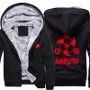 <p>Naruto Sharingan Logo Warm Hoodies For Winter Mens</p>