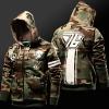 Overwatch Soldier 76 Hoodie Army Green OW Hero Sweatshirt