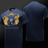 World of Warcraft NGA T-shirt Blizzard WOW National Geography of Azeroth Tee