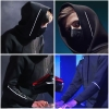 Alan Walker Hoodie Black Luminous Faded Sweatshirt Cool