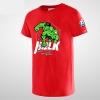 Cartoon Hulk Tshirt Men Blue Tee Shirt