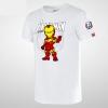 Cartoon Iron Man T-shirt for boy
