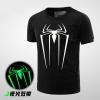 Cool Luminous Spiderman Costume T Shirt
