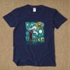 Creative Deadpool Van Gogh Starry Sky T Shirt
