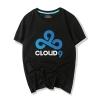 Dota 2 Heroes Team Cloud 9 Tee Shirt