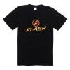 The Flash Tshirt TV Printing Tees Plus Size Black