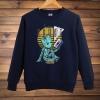 Groot Crewneck Sweatshirt Garden Of The Galaxy Black Mens Hoodie