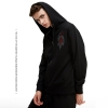 World of Warcraft Embroidered Horde Logo Hoodie WOW For The Horde Sweatshirt
