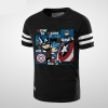 How To Become A Real Heroic Captain America T Shirt