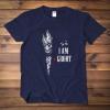 I am Groot Black T shirt Guardians Of The Galaxy Movie T-shirt