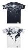 Limited Edition Genji VS Mercy T-shirt Overwatch White Tee Shirts.