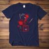 Lovely Deadpool Tshrit Black XXL Tee for Men